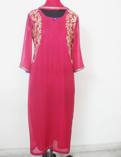 Desginer pink Suit 1