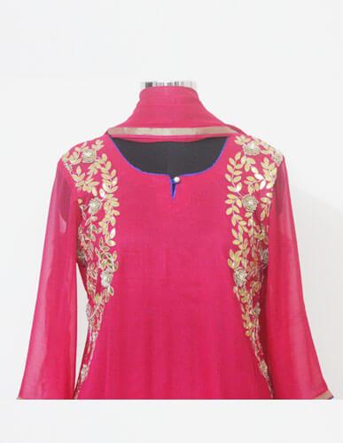 Desginer pink Suit 2