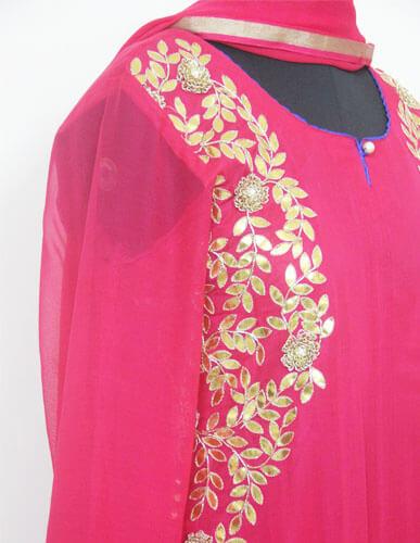 Designer Pink Suit 3