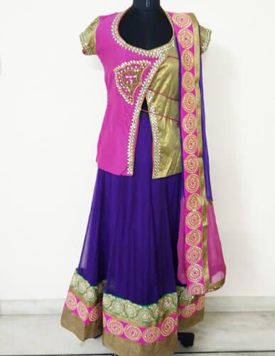 Exclusive Designer Pink Lehenga