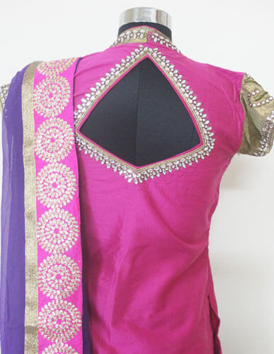 Exclusive Designer Pink Lehenga 4