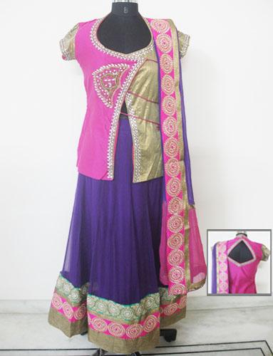 Exclusive-Designer-Pink-Lehenga